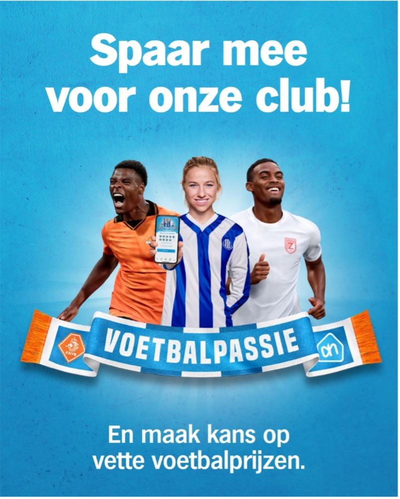 Voetbalpassie actie Albert Heijn